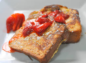 """STRAWBERRY FRENCH TOAST"" E-LIQUID"